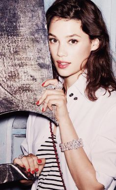 Astrid Berges Frisbey,  a young and fresh talent imported from France