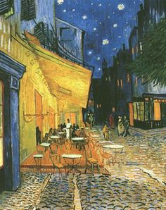 Vincent van Gogh The Cafe Terrace on the Place du Forum Arles, September, 1888 Kroller-Muller Museum, Otterlo