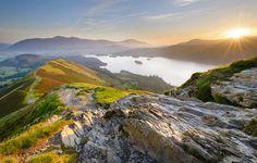O sol nasce no condado de Cumbria, noroeste inglês (Foto: Bart Heirweg, ganhadora na categoria Convite)