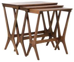 Burma Set of 3 Tables - Matt Blatt