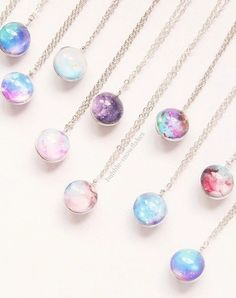 Jewels: accessories, lolipop, necklace, kawaii, pale, pastel - Wheretoget on We Heart It