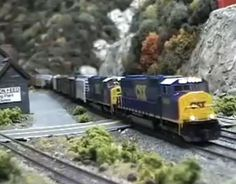 n gauge train | Need Small? Collect N Scale Model Trains with N Scale Layouts