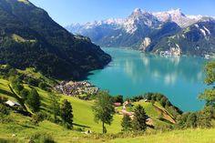Scenery,switzerland,shwyz,morschach,landscape,switzerland Wallpaper In Pc Computer