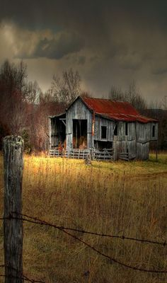Reminds me of the barn at my grandpa's house when I was a child.