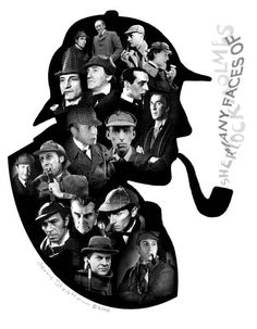We continue our occasional series, Our Favorite Books, with Sir Arthur Conan Doyle's enduringly popular creation Sherlock Holmes. Sherlock Holmes is Sherlock Bbc, Sherlock Holmes Dibujos, Elementary My Dear Watson, Holmes Elementary, Jeremy Brett, Adventures Of Sherlock Holmes, Arthur Conan Doyle, Sir Arthur, Many Faces