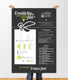Creative Curriculum 1.0 by luca qiu, via Behance