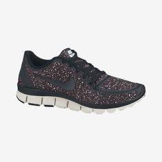 Nike Free 5.0 V4 Black Glitter