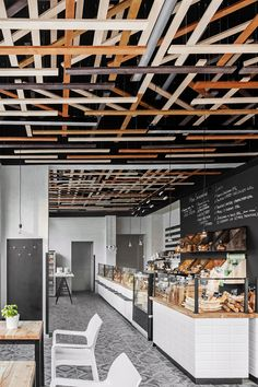 The presented sales premises of Przystanek Piekarnia bakery build upon the idea created for the entire chain in 2013 by Maciej Kurkowski, founder of Five Cell design group. Each of the interiors is equipped with a unique system of modules made of stained birch plywood. Depending on such parameters as location, size and height of …