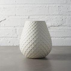 mamba white vase | CB2