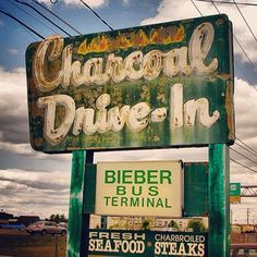 Charcoal Drive-In, Allentown, PA.  (taking the bus to NYC).... My favorite charcoal burgers, my bus station to NYC. Miss it a lot!