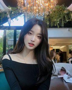 Korean Makeup Look Korean Girl Cute, Korean Girl Ulzzang, Korean Girl Photo, Pretty Korean Girls, Korean Beauty Girls, Korean Girl Fashion, Cute Asian Girls, Beautiful Asian Girls, Asian Beauty