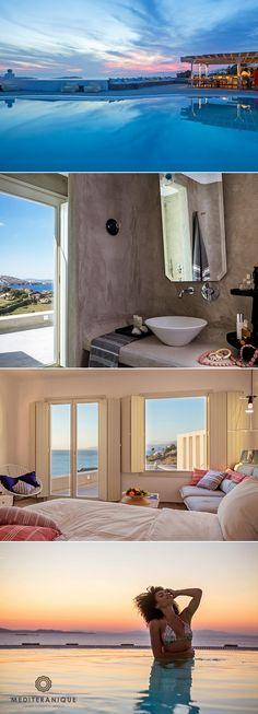 The Boheme Hotel, a bohemian chic luxury hotel in Mykonos