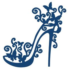 Tattered Lace - Dies - High Heel Glam,$19.49