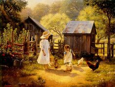 Remember those days when the family still got together for a big Sunday  lunch at Grandma s · Art OilBeautiful PaintingsBeautiful ... 5660e9081