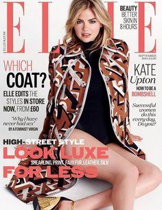 Elle UK September 2014 Cover