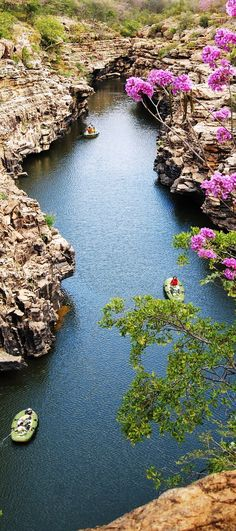 Canyon of Rio Poty, Piaui State, Brazil