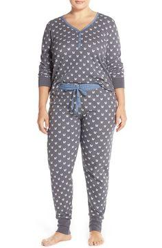 PJ Salvage Thermal Pajamas (Plus Size) Thermal Pajamas 69db5fc3e