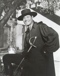 Disney's classic Zorro series, with Guy Williams as Zorro Walt Disney, Disney Cast, Larry Wilcox, Saint Yves, The Legend Of Zorro, Tv Westerns, Epic Movie, Old Movies, Classic Hollywood