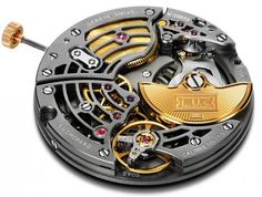 The Chopard  L.U.C Calibre 96.17-S ultra-thin movement is the first skeletonised calibre produced by Chopard Manufacture