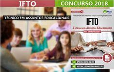 Concurso IFTO 2018 Técnico em Assuntos Educacionais