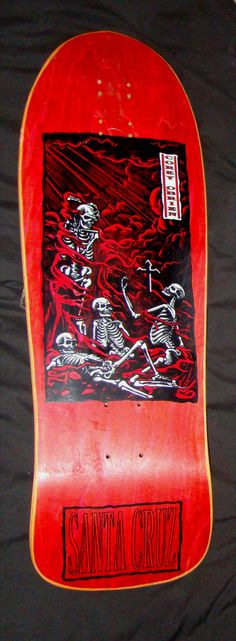 Santa Cruz - Corey OBrein Purgatory Skateboard Companies, Skateboard Deck Art, Old School Skateboards, Vintage Skateboards, Skate Decks, Skate Surf, Original Skateboards, Skate And Destroy, Punk Art