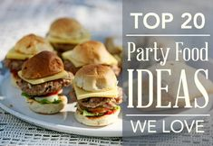 Check out MoM's top 20 kids party food ideas from all over the web