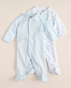 Take Home Outfit - boy?  Little Me Infant Boys' Elephant Footie 2 Pack - SIzes 0-9 Months | Bloomingdale's