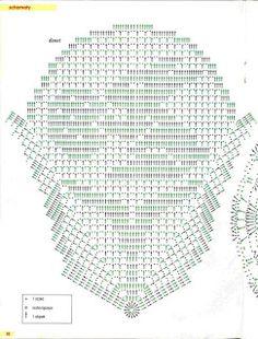 Romans z szydełkiem Crochet Tablecloth, Crochet Doilies, Crochet Lace, Crochet Shawl, Easter Crochet Patterns, Crochet Bunny, Filet Crochet Charts, Crochet Diagram, Thread Crochet