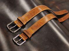 Mitchell custom leather belt