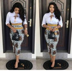 17 Latest Ankara Skirt Styles You Should Check Out African Attire, African Wear, African Women, African Dress, Latest African Fashion Dresses, African Print Fashion, Africa Fashion, Ankara Fashion, Ankara Rock