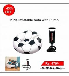 Kids Inflatable Sofa with Pump
