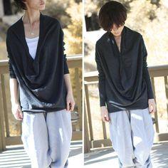 cotton sweater /spring shirt/ Tshirt / long sleeves shirt by FM908, $59.00