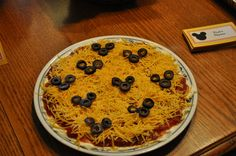 Cute idea for a Mickey Mouse party #mickeymouse #salsa