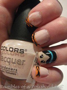 Rambles of a Polish Addict: disney nail art challenge day 12: Jasmine