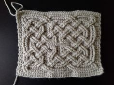 Suvi's Crochet: Book of Kells - Celtic Square Knot