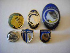 w1 lotto 5 ATALANTA FC club calcio football spilla pins italia italy lot