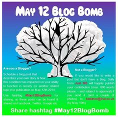 Just ME: May 12 Blog Bomb Link List