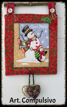 Quadrinho Natal Patchwork
