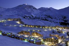 La Plagne, France. School ski trip, Winter of '05/'06. Tried my first cigar here. Still think they're gross.