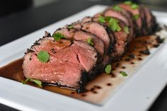 Black Sesame Crusted Beef with Ponzu Sauce - Weber