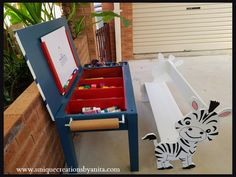 How to make a Kids craft table