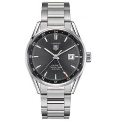 Tag Heuer Calibre 7 Twin Time Automatic Watch 41mm - a watch of another color