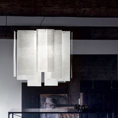 The famous Italian designer created the surprising Alexandra pendant lamp for the iconic Italian publishing house, Palluco. This pendant lamp is a new. Suspension Light, Lamp, Geometric Lighting, Lamp Decor, Modern Light Fixtures, Pendant Light, Floor Lamp Design, George Nelson Bubble Lamp, Fiberglass