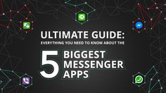 5 Best Messenger Apps For Android And iOS     ---     #Android  #iOS  #Apps  #Messaging  #Messenger  #WhatsApp  #FacebookMessenger  #Line  #WeChat  #Viber       ---     https://goo.gl/ZZ11KJ