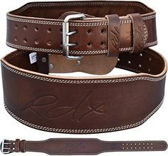 """RDX 4"""" professional Belt made with unique oil tanned Nubuck Cow Hide leather This fixes the oil in the leather, making it soft and durable for serious lifters The oil forms soaps on the fibres to produce a highly absorbent Cow Hide leather"""