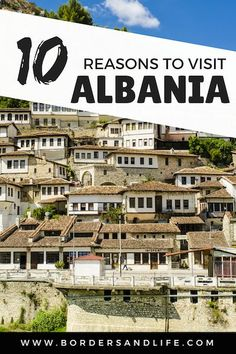 Wondering why you should visit Albania? Read This! Including suggestions on must see places to visit ** Albania | Europe | Why you should visit Albania | Must see Albania | Sarande | Beaches Albania | Butrint | Tirana | World Heritage Sites Albania-- Tanks that Get Around is an online store offering a selection of funny travel clothes for world explorers. Check out www.tanksthatgetaround.com for funny travel tank tops and more travel destination guides!