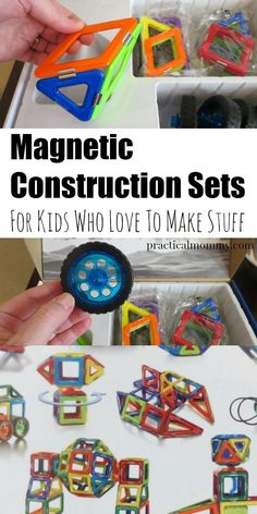 Magnetic Construction Sets For Kids Who Love To Make Stuff