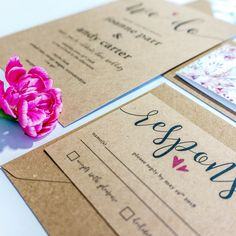 A simple, no fuss design. Printed onto high quality kraft brown card this design is fully customisable to include your own names, choice of words and dates etc. Bespoke Wedding Invitations, Floral Wedding Invitations, Wedding Stationery, Stationery Design, Rustic Wedding, Dates, Printed, Brown, Simple
