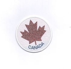 Vintage Canada Maple leaf Patch Sara Crispino, Come From Away, Percy Jackson Annabeth Chase, Anna And The French Kiss, Robin Scherbatsky, Ted Mosby, Canada Maple Leaf, Tessa And Scott, Frank Zhang
