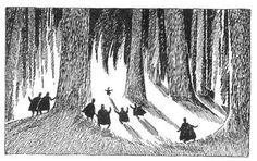 Tove Jansson - J.R.R. Tolkien's The Hobbit, 1962 Swedish edition